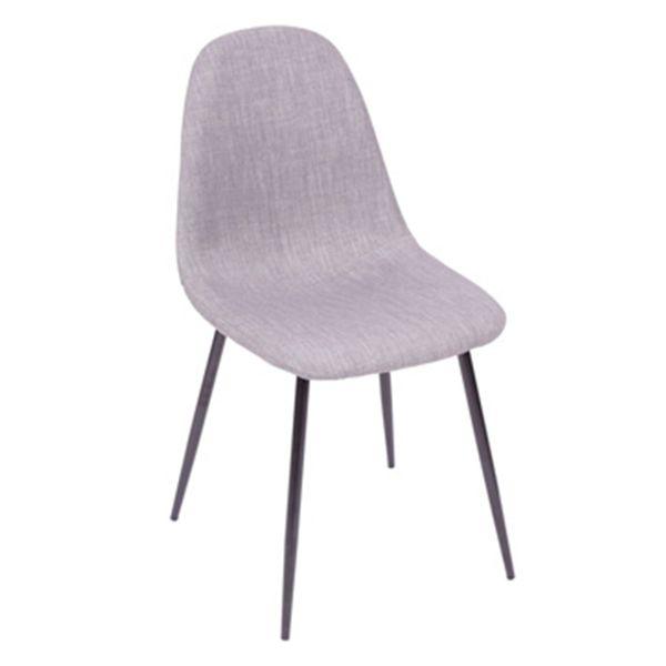 Cadeira-Tania-Cinza-Claro-com-Base-Escura---OR-1112