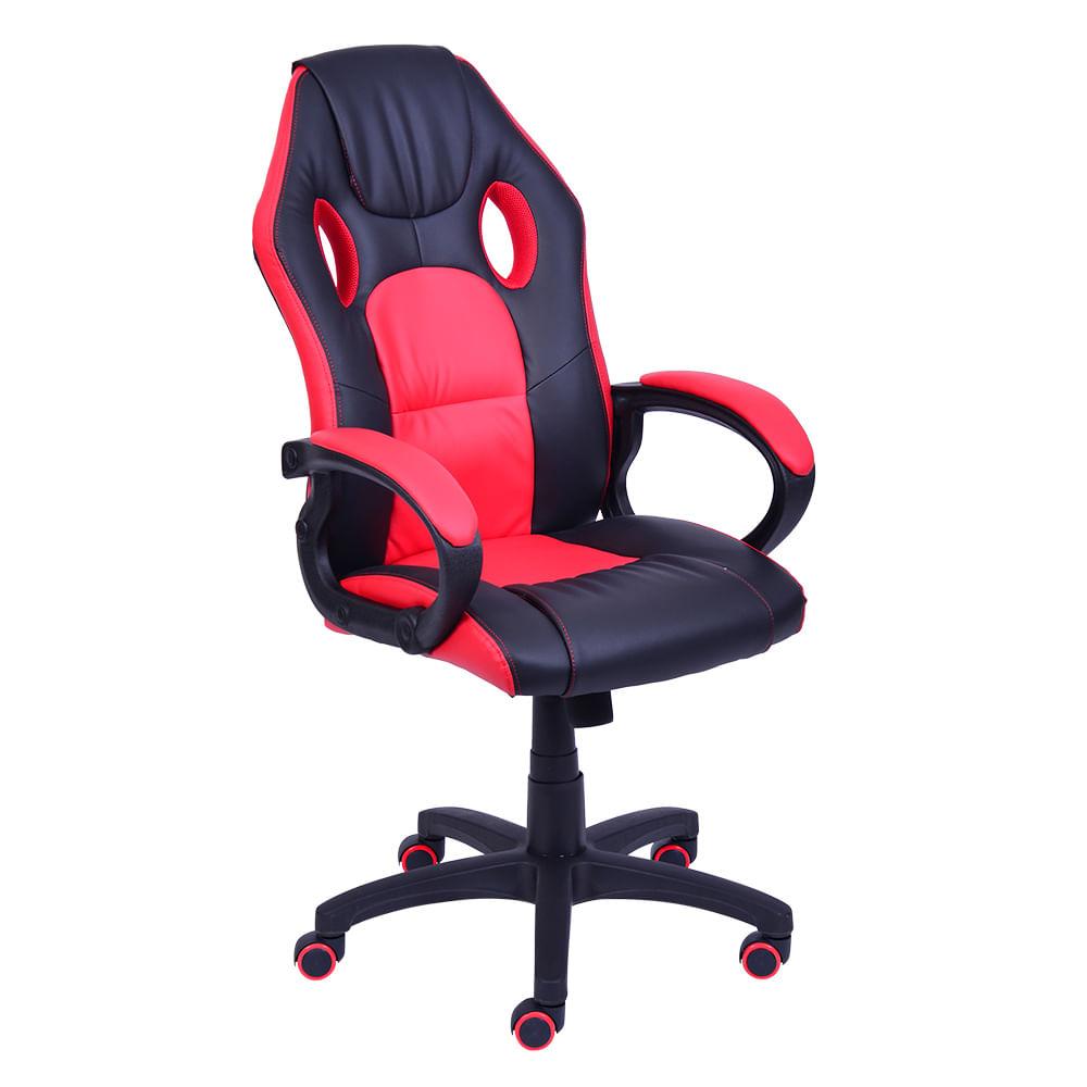 Poltrona-Office-Racer-Preta-com-detalhe-Vermelho----Or-3316-GAME