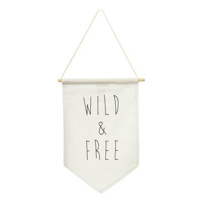 Bandeira-Wild---Free--24cm-x-38cm-
