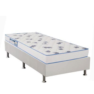 Kit-Cama-Box-Corino-Branco--88x188x23---Colchao-Light-D33--88x188x14-