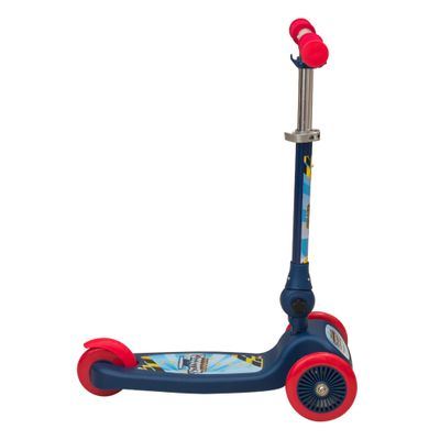 Patinete-Scooter-Net-Mini-Racing-Club-Azul-e-Vermelho