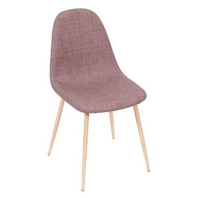 Cadeira-Tania-Marrom-Claro-com-Base-Clara---OR-1112