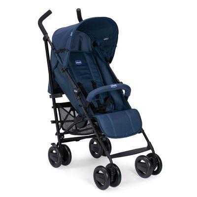 Carro-Aluminio--75kg--London-Blue-4-Posicoes---Capa-de-chuva---15kg
