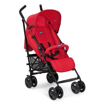 Carro-Aluminio--75kg--London-Red--4-Posicoes---Capa-de-chuva---15kg