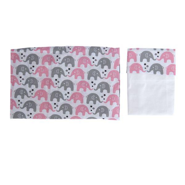 Lencol-de-Cercado-com-Fronha-Estampa-Elefante-Estrela-Rosa-Cinza-760360
