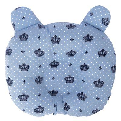Travesseiro ursinho modelador coroa az