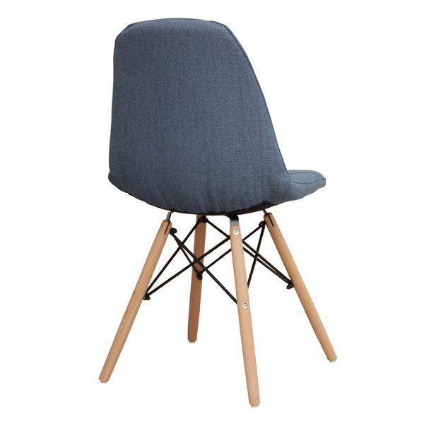Cadeira Eiffel Botonê Linho Jeans