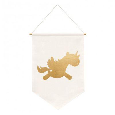 Bandeira Unicornio (40 cm x 25cm)