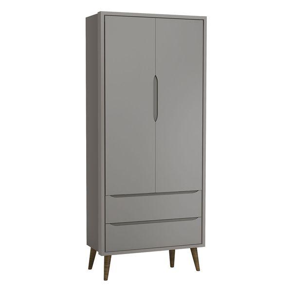 guarda-roupa-2-portas-retro-theo-cinza-com-pes-em-madeira