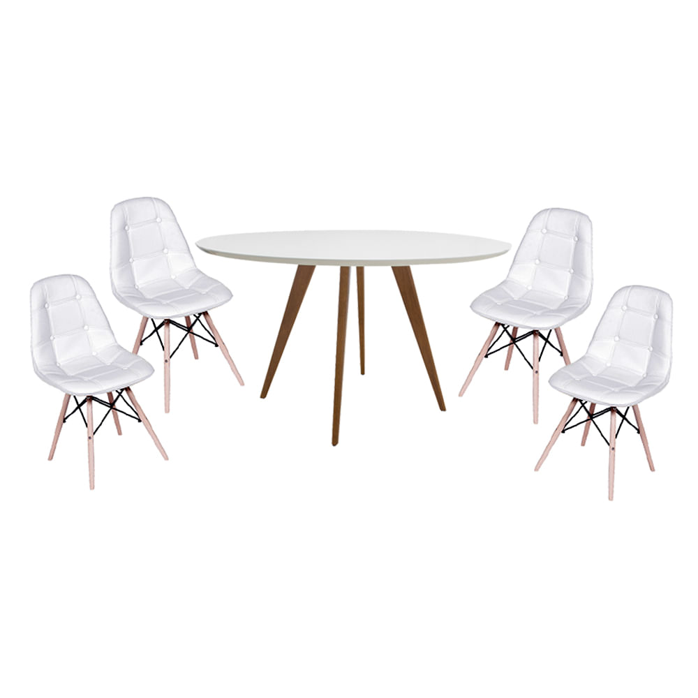 Conjunto-Mesa-Square-Redonda-Tampo-Branco-Fosco-88-com-4-Cadeiras-Eiffel-Botone-Branco