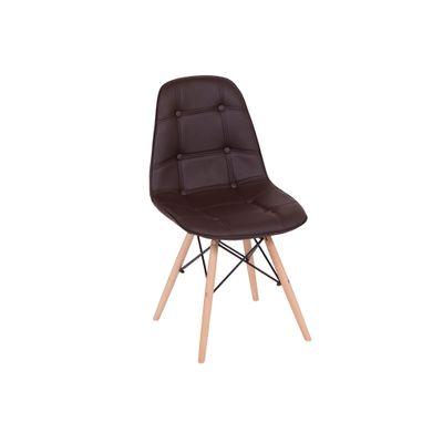 Conjunto-Mesa-Square-Redonda-Tampo-Branco-Fosco-88-com-4-Cadeiras-Eiffel-Botone-Marrom