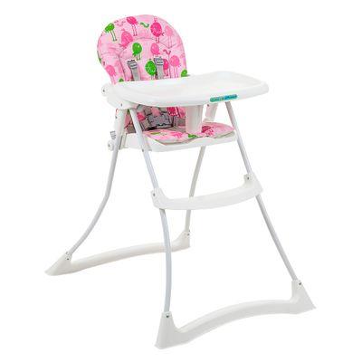 Cadeira Refeição Bon Apetit Xl Passarinho Rosa (3045gl43)