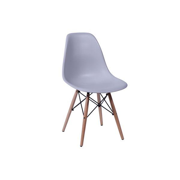 Conjunto-Mesa-Square-Quadrada-Tampo-Branco-Fosco-90x90-com-2-Cadeiras-Eiffel-Cinza-Pes-Madeira