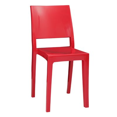 Conjunto-Mesa-Square-Redonda-Tampo-Branco-Fosco-80cm-com-2-Cadeiras-Zeus-Plus-Vermelho