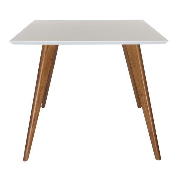 Conjunto-Mesa-Square-Quadrada-Tampo-Branco-Fosco-90x90-com-4-Cadeiras-Allegra-Vermelha