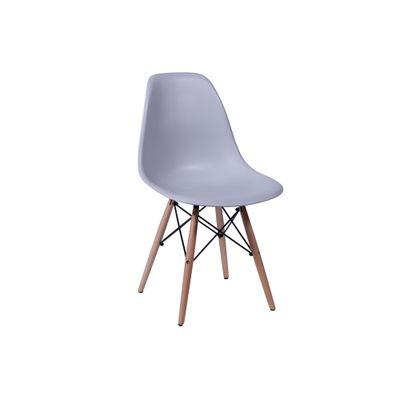 Conjunto-Mesa-Square-Quadrada-Tampo-Branco-Fosco-90x90-com-4-Cadeiras-Eiffel-Cinza-Pes-Madeira