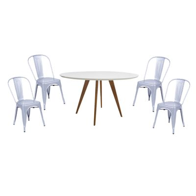Conjunto-Mesa-Square-Red-Tampo-Branco-Fosco-88---4-Cadeiras-Tolix-Cinza-Metalico