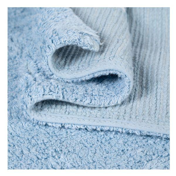 Tapete Topos Azul 100% Algodão 1,20 X 1,60