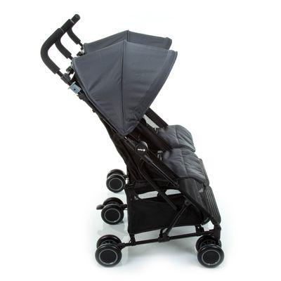 Carrinho-de-Bebe-para-Gemeos-Nano-Grey-Black---15-kg