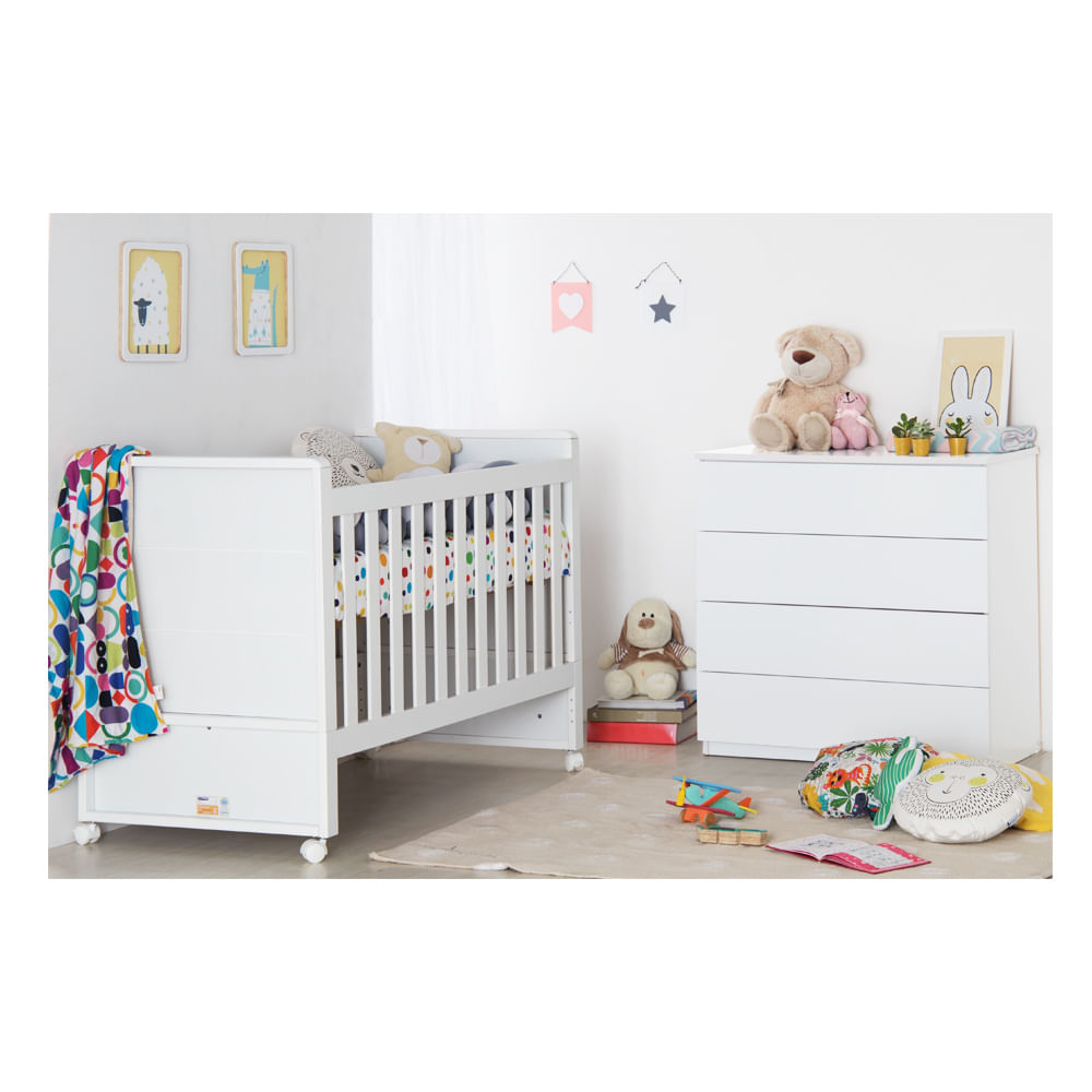 Quarto-Infantil-Zoon-Branco-Fosco