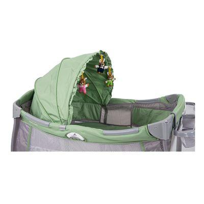 Berco-Cercado-Solis-Verde-Super-Luxo-Prime-Baby-Com-Trocador-e-Capota-112x82x120
