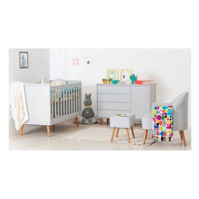 kit-quarto-infantil-retro-cinza--berco-comoda-poltrona-capri-e-puff-visual