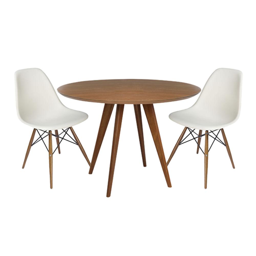 conjunto-mesa-square-louro-freijo-80cm-com-2-cadeiras-eiffel-branca