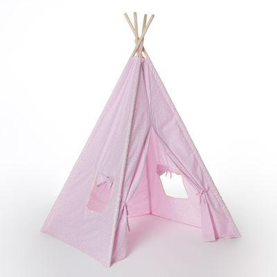 cabana-infantil-rosa-estrelas-e-luas