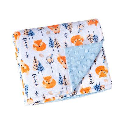 manta-fleece-estampa-raposa-azul