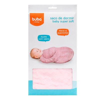 saco-de-dormir-buba-zoo-baby-super-soft-rosa