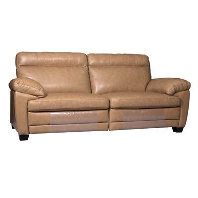 Sofa-drops-com-mecanismos-eletricos-e-2-almofadas-couro-natural-caramelo-diagonal