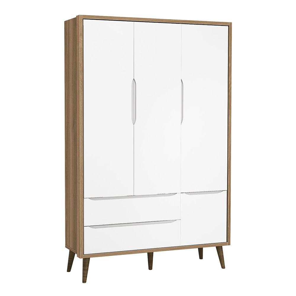 armario-3-portas-retro-theo-branco-fosco-com-mezzo-com-kit-pe-em-madeira-diagonal-fechado