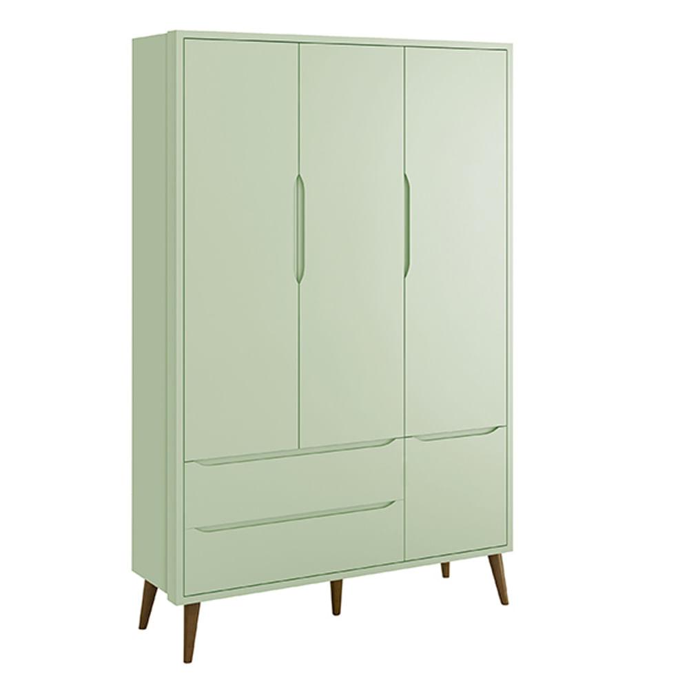 Armario-3-portas-retro-Theo-Verde-com-Kit-Pe-em-Madeira
