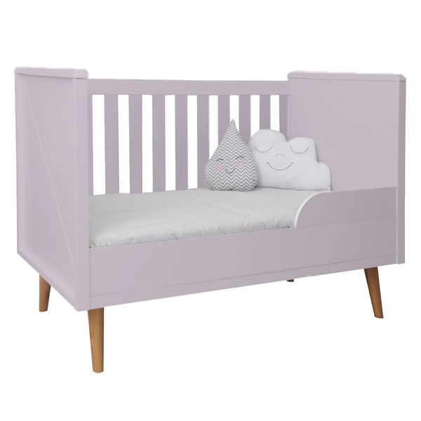 Kit-Quarto-Infantil-Retro-Rosa–Berco-Comoda-com-porta-Poltrona-Capri-Cinza2