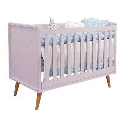 Kit-Quarto-Infantil-Retro-Rosa–Berco-Comoda-sem-porta-Poltrona-Capri-Cinza1