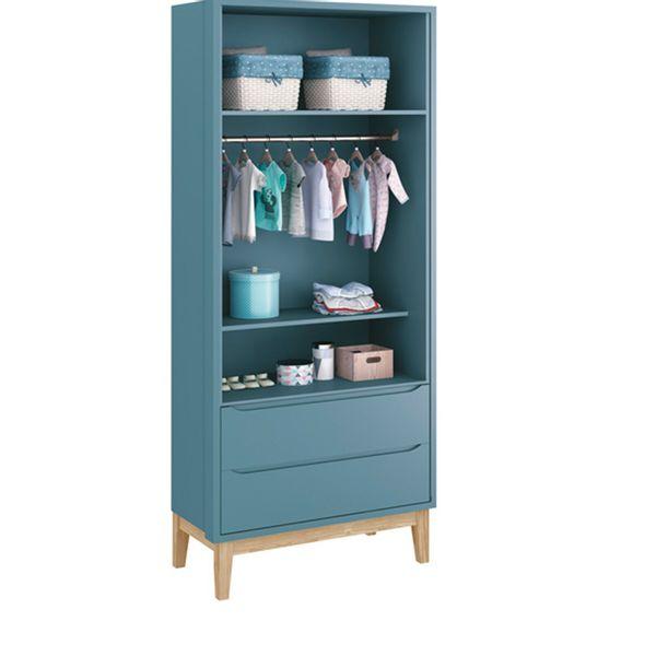 Guarda-roupa-Retro-Square-2-portas-com-Kit-Pe-em-Madeira-Natural–Azul1