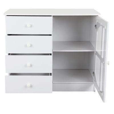 comoda-lila-4-gavetas-com-porta-branco-brilho