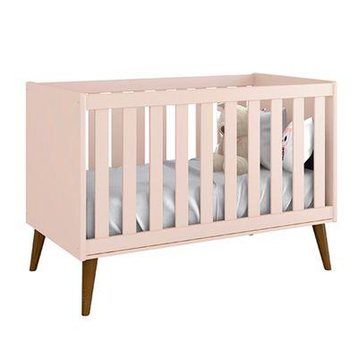 berco-mini-cama-retro-theo-com-kit-pe-em-madeira-rosa