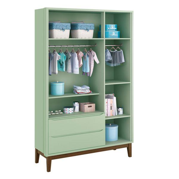 armario-3-portas-retro-square-pe-em-madeira-verde-aberto