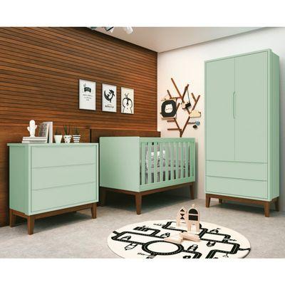 comoda-retro-square-3-gavetas-com-kit-pe-em-madeira–verde1