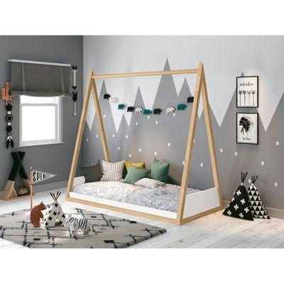 mini-cama-kira-branco-fosco-com-madeira-pinus-ambiente