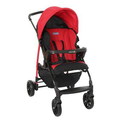 carrinho-de-bebe-ecco-4-posicoes-vermelho-burigotto