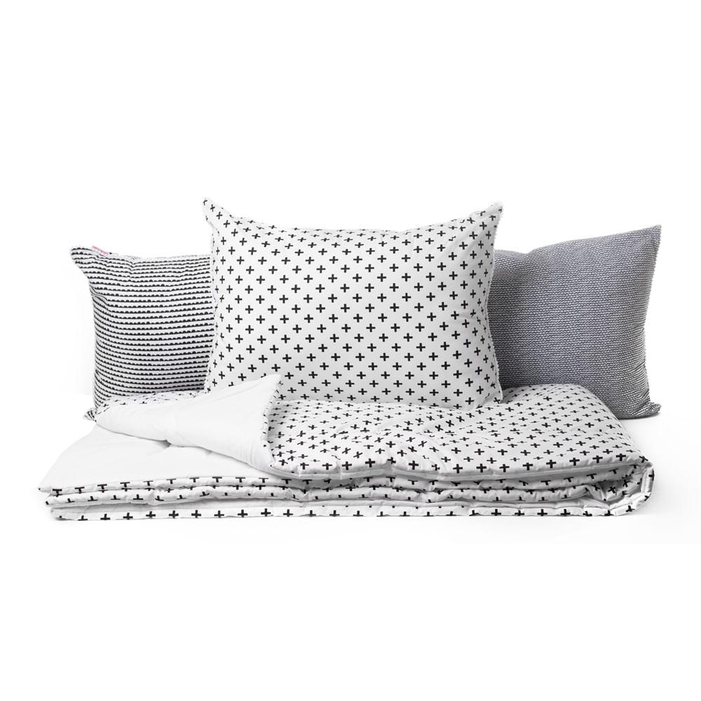 kit-cama-solteiro-preto-e-branco-4pcas