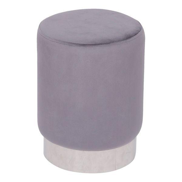puff-redondo-boho-chic-or-design-cinza