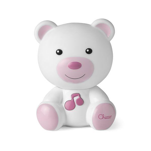luminaria-chicco-infantil-ursinho-rosa
