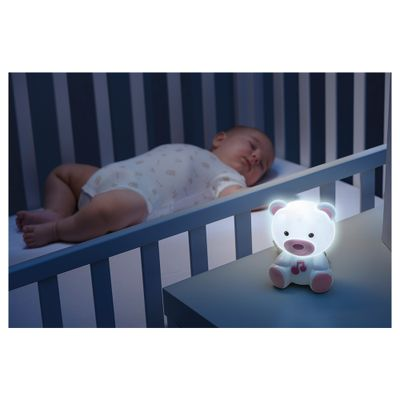 luminaria-chicco-infantil-ursinho-rosa-ambiente