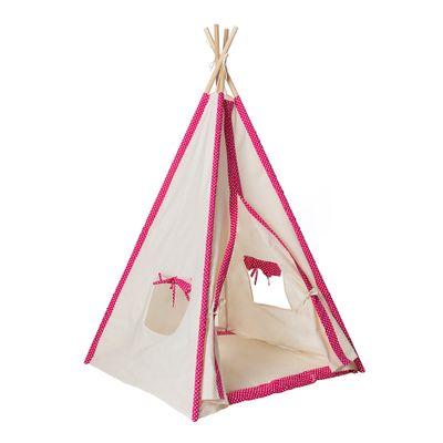 Cabana-Infantil-Poa-com-Manta---Pink