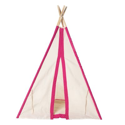 Cabana-Infantil-Poa-com-Manta---Pink2