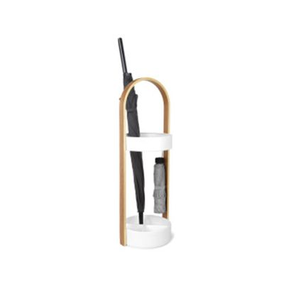 Porta-Guarda-Chuva-Umbra-Hub-Umbrella-Stand-–-WhiteNatural