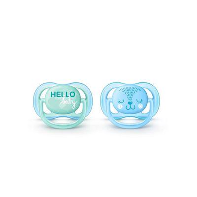 Kit-Chupeta-Philips-Avent-Azul-e-Verde--0-6-Meses----2-Unidades